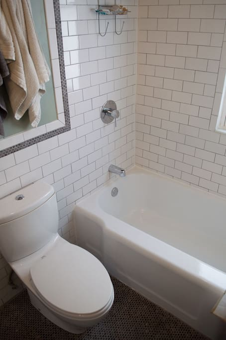 Your own private bathroom.