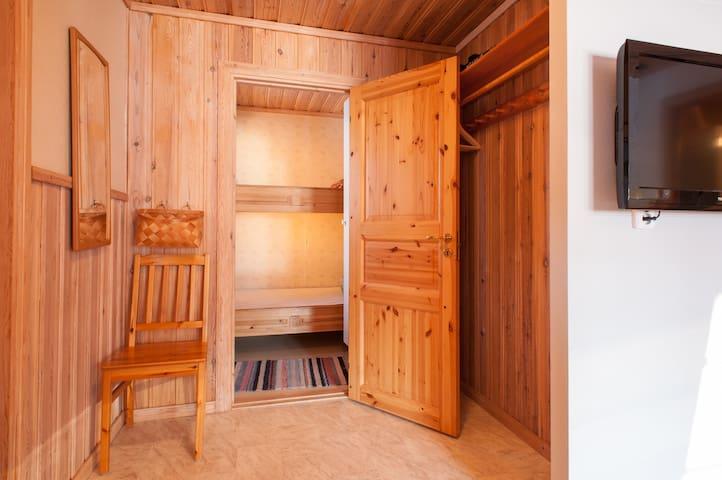 """Great Dala twin-cabin named """"Olle""""!"""