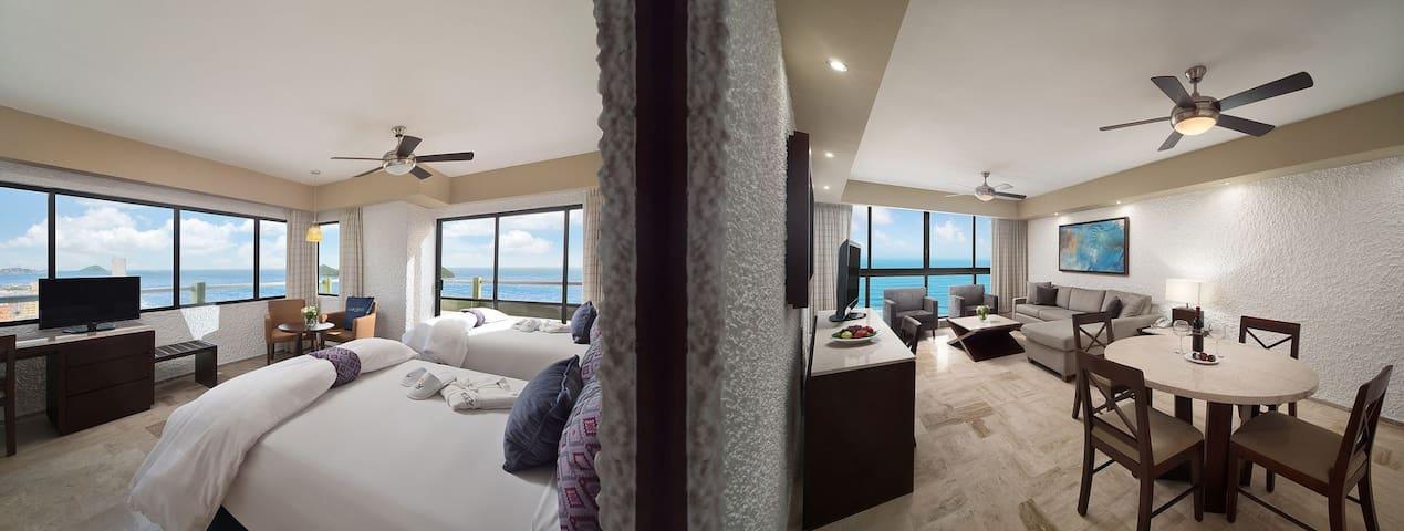 1 Bedroom Unit - Views Vary and not guaranteed
