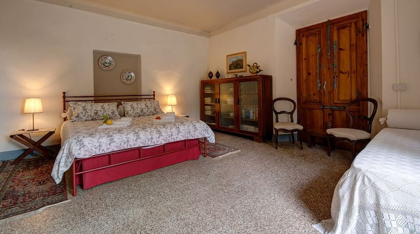 The Suite - XVIc Villa, walled gard - San Giuliano Terme - Bed & Breakfast