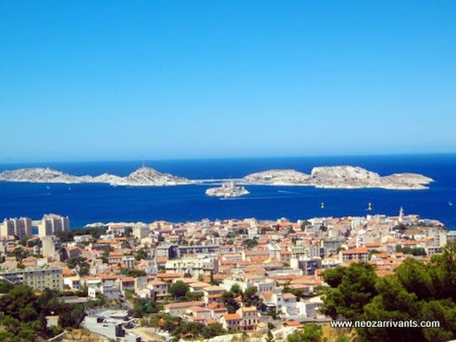 Marseille, Near Vieux Port, Timone, Metro
