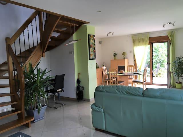 Chez Alisa, maison avec terrasse et  jardin clos - Bergheim - Casa