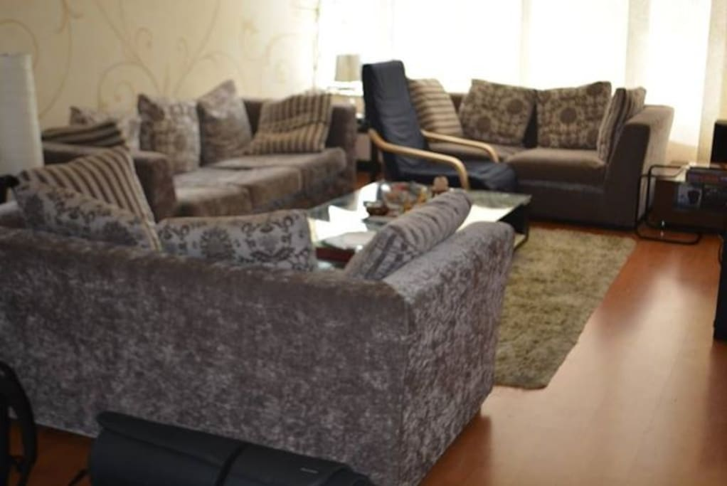 Living room with sofas