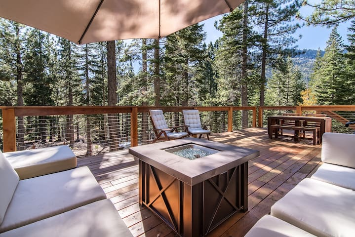 South Lake Tahoe Cabin in the Pines - South Lake Tahoe - Dom