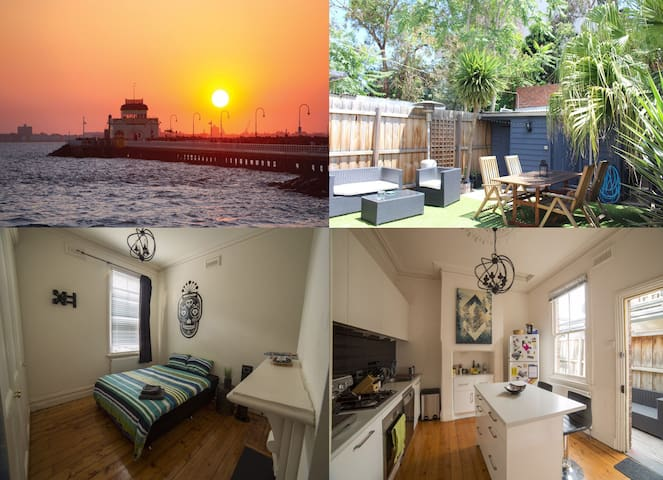 Sunny house close to beach & city! - Saint Kilda - Hus
