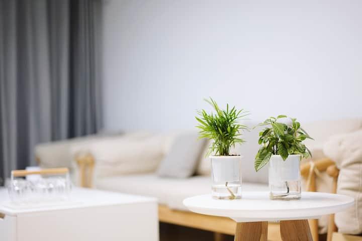 【 小暖惬意居 】新房源特价三居大床房
