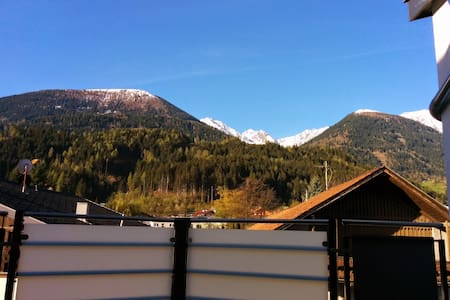 Large modern apt, amazing Alps view, free parking - Apartment