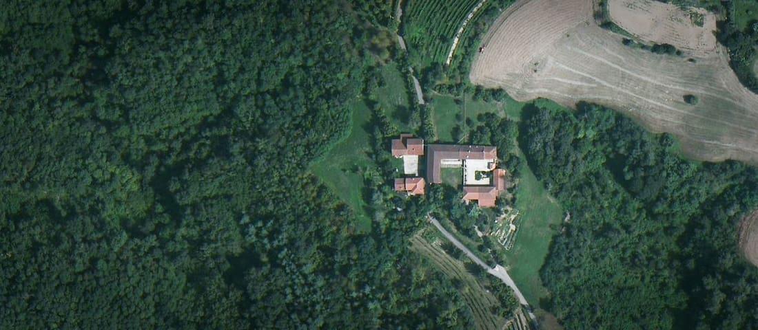 CASCINA VALLE DEL SERRO, Monferrato - Montafia - House