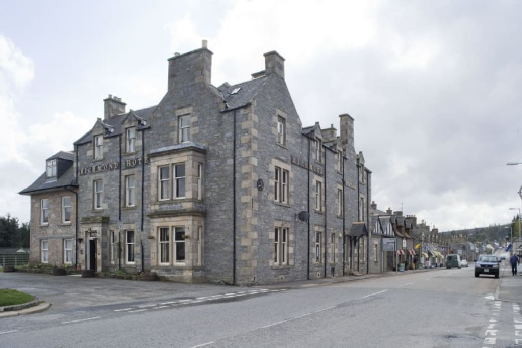 richmond arms hotel tomintoul bed and breakfasts for. Black Bedroom Furniture Sets. Home Design Ideas