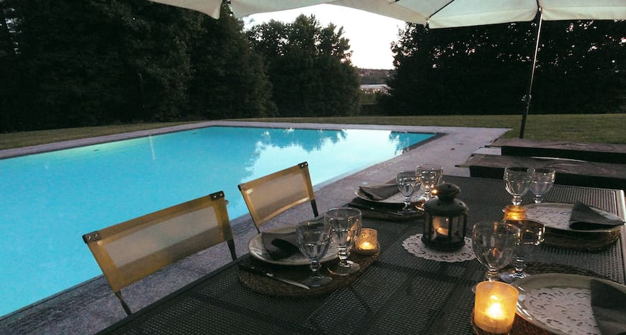 At Il Montesino b&b is possible to have dinner