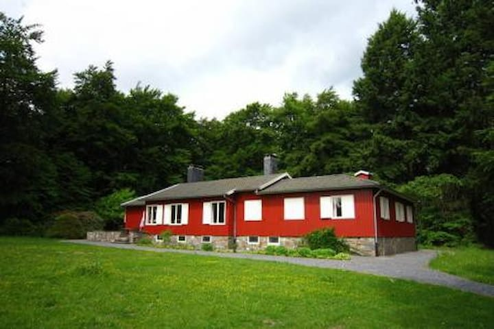 12p Family Chalet, Private Estate - Bertogne - Faház