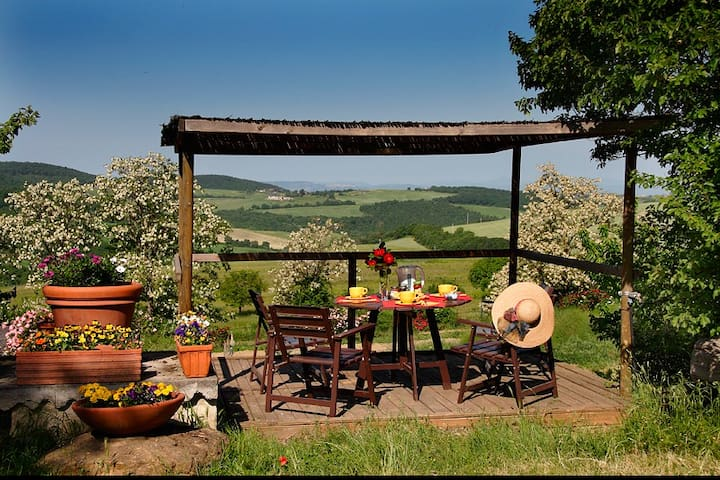 Romantic apartment in a quite place - Montepulciano