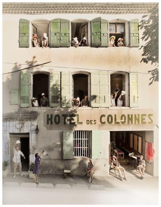 La maison : Ancien Hôtel devenu maison d'hôtes
