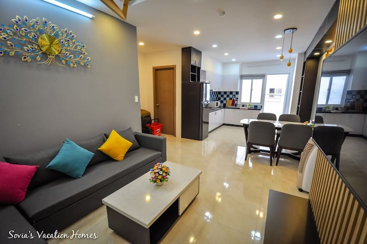 [Sovia's Homes] Cozy beachfront 2BR apartment