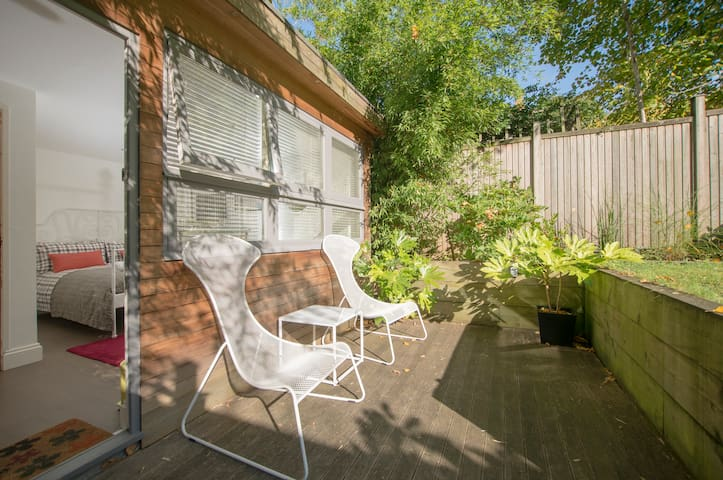Sunny Studio 1 with Lovely Patio.