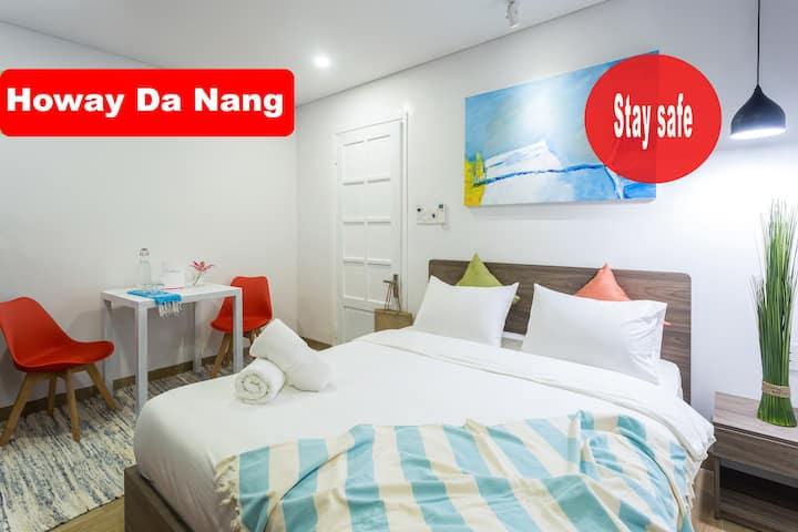 ✪ Studio Apt ✪ Queen Sized Bed ✪ My Khe Beach
