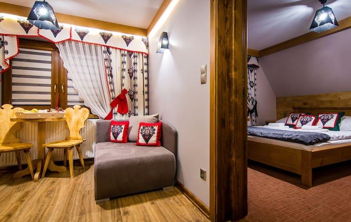 Gościniec Stopków - apartament 5-osobowy Góralka