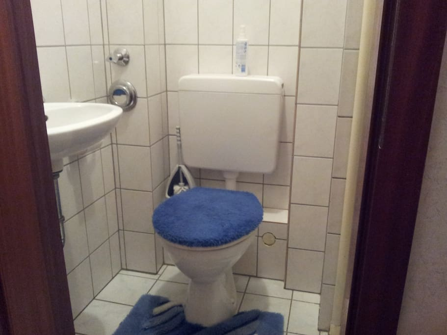 Mein Gäste-WC mit Waschgelegenheit