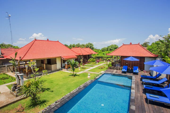 The Parnas Lembongan - Garden view room