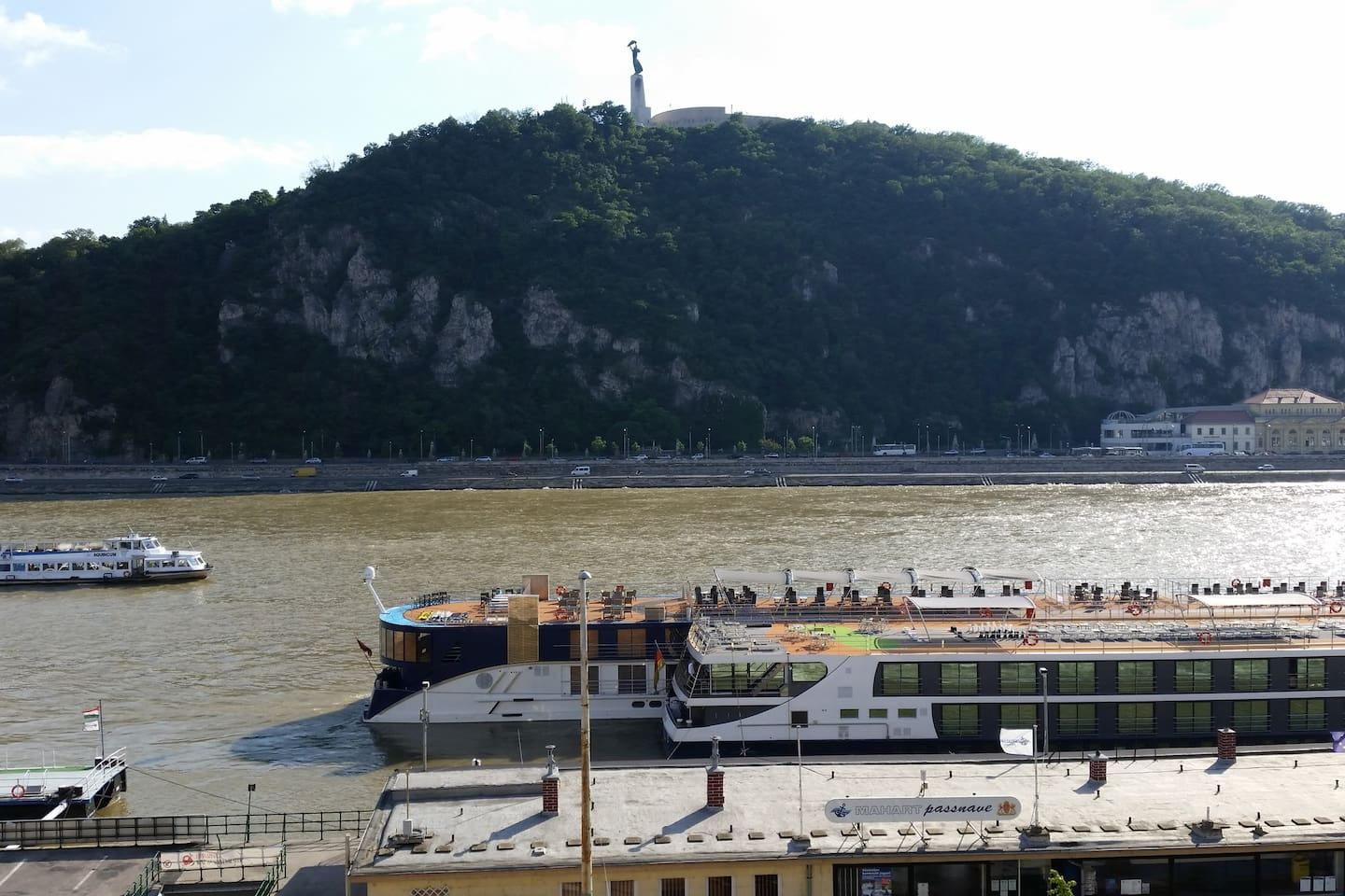 Luxurious River viewing condo at Budapest center