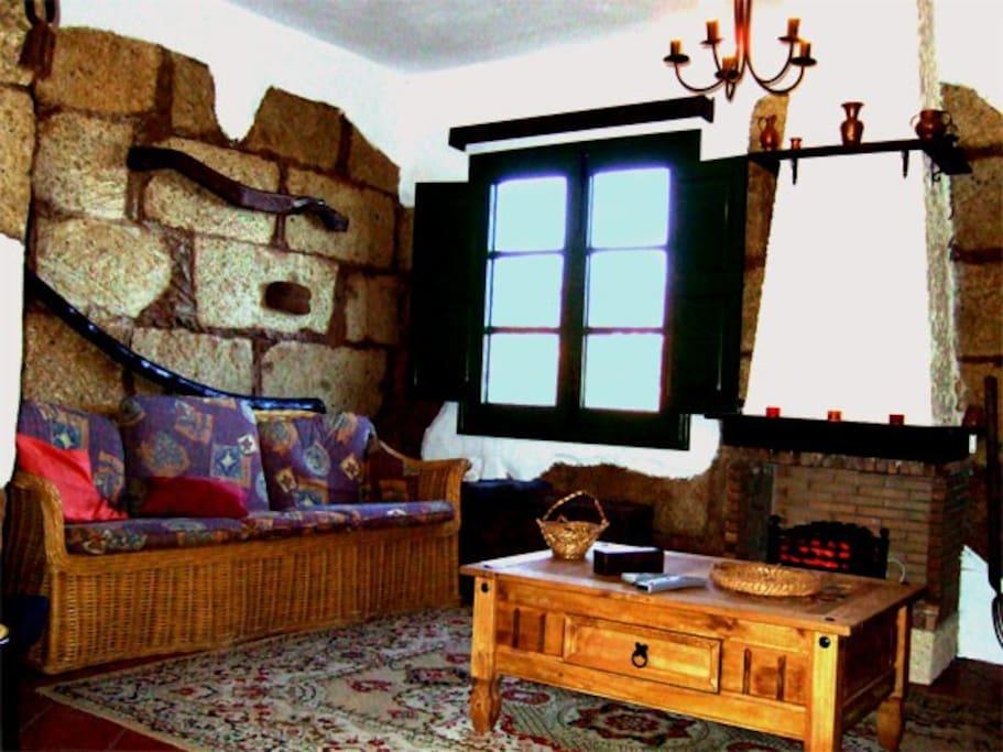 Sala de Estar de Villa Abona