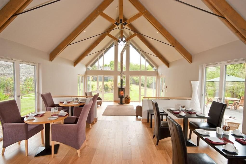 Dining Room at Craigatin House and Courtyard Pitlochry