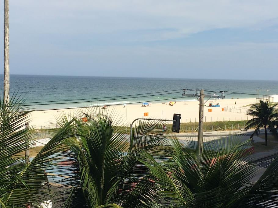Bela vista para o mar
