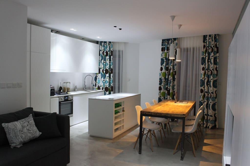 Design apartment with sea views