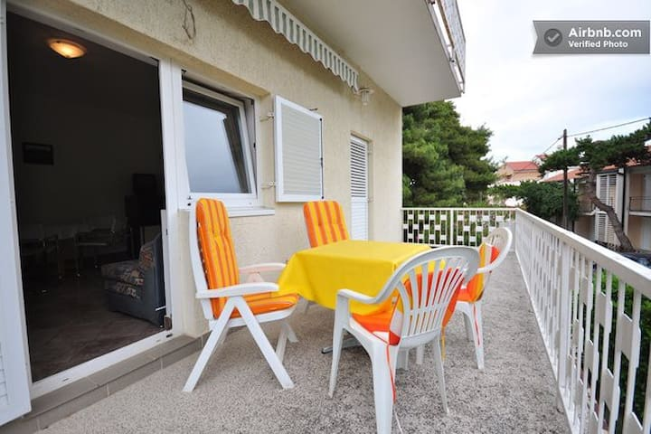 Apartment A-2 great location  200 m from the beach - Biograd na Moru - Appartement