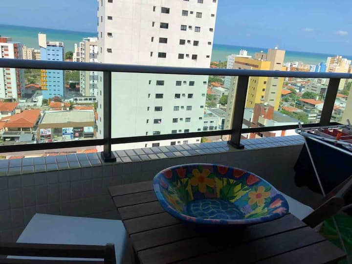 Apartamento aconchegante perto da praia - Paraíba