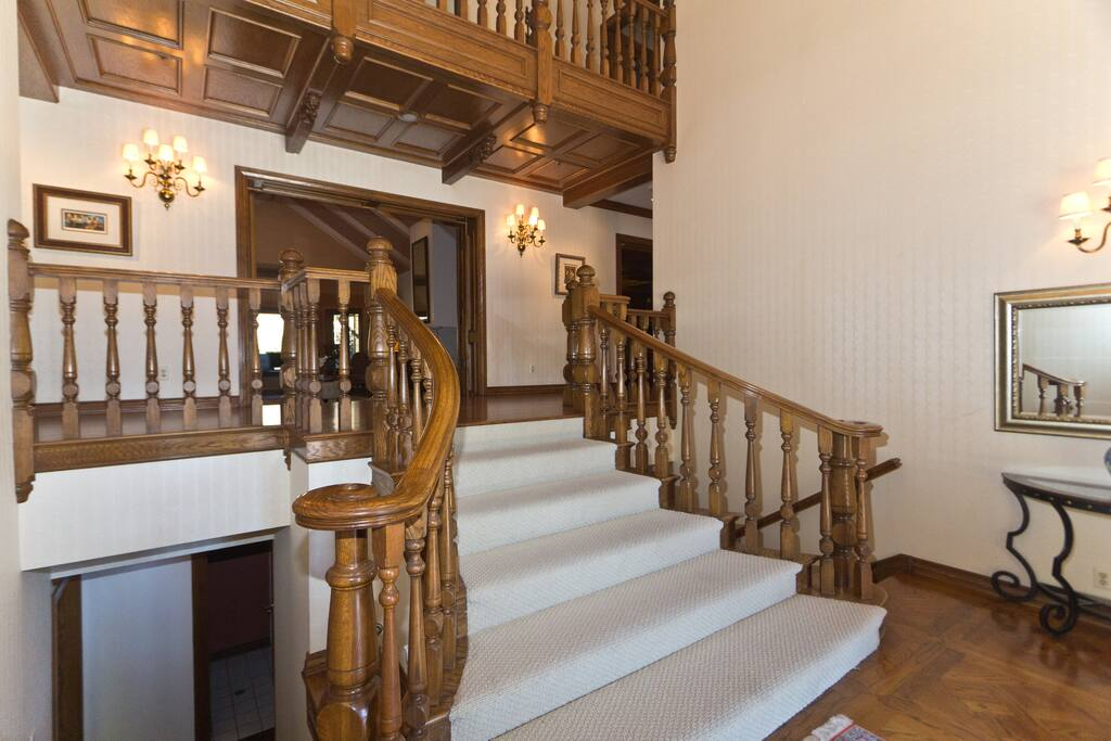 Main foyer leading to your suite