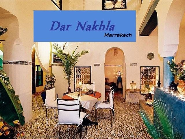 riad dar nakhla - Marrakesh - Bed & Breakfast