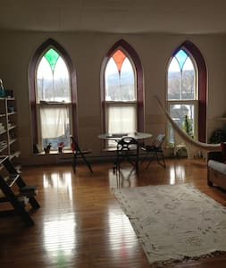 LOFT living in Shelburne Falls Ma - 셸번(Shelburne) - 아파트