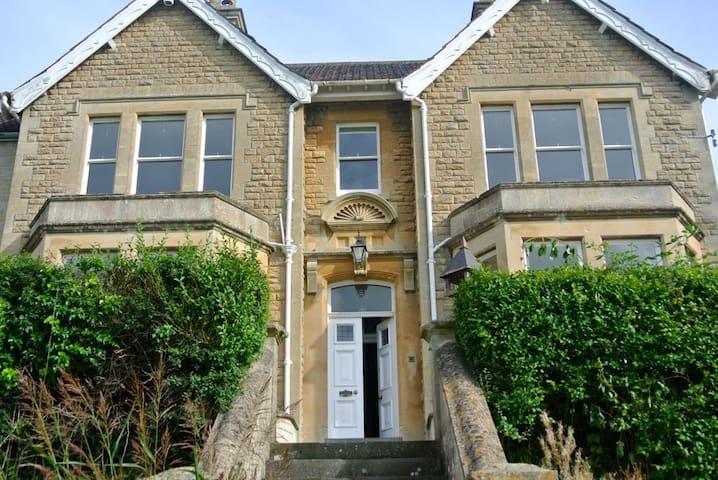 Grand & Gorgeous Victorian House, Nr. Bath (KMR) - Box - House