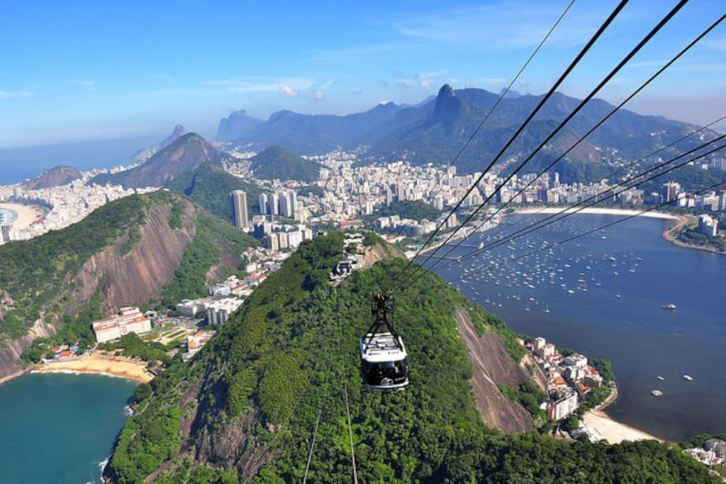 Catch the gondola to the top of Rio's iconic landmass, and see the city from new perspectives.