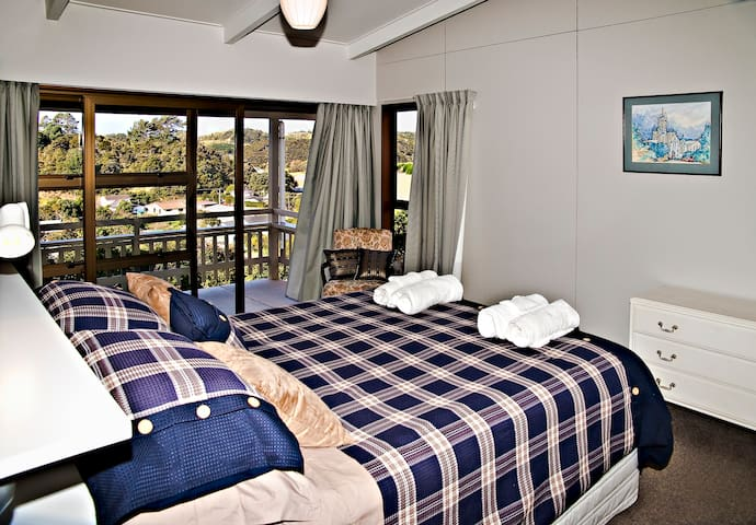 Bedroom 2 -  Ngunguru Holiday Home