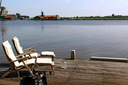 Unique B&B close to A'dam next to Zaanse Schans - Zaandijk - 住宿加早餐