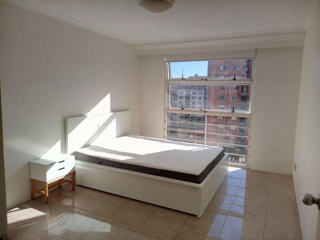 Minimalist style Sydney Center Private room.