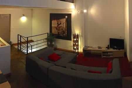 90 m2 3 chambres Lille Hyper Centre 7 personnes - Лиль - Квартира