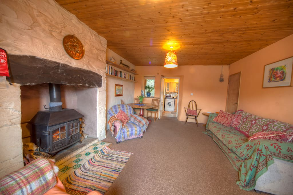Artists cottage. Snug in Snowdonia