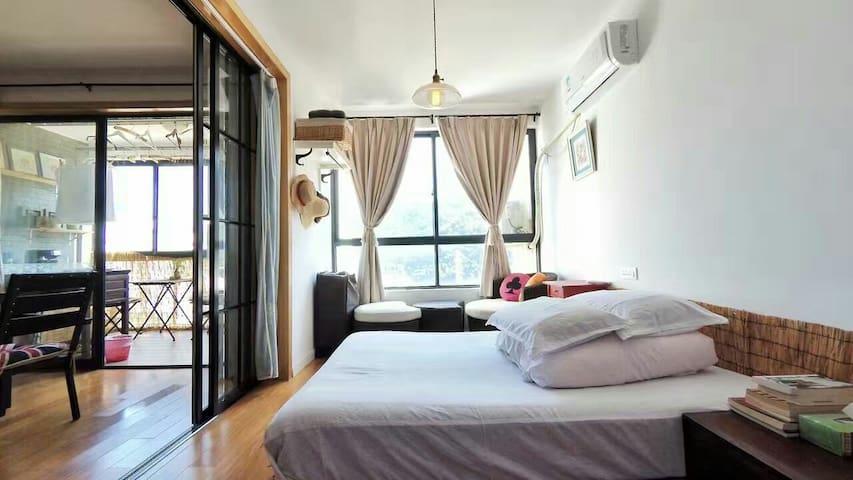 远离雾霾 来安吉续目看星星 - Huzhou - Apartment