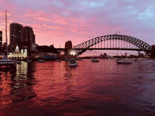 Romantic Night On Sydney Harbour - Lavender Bay - Bot