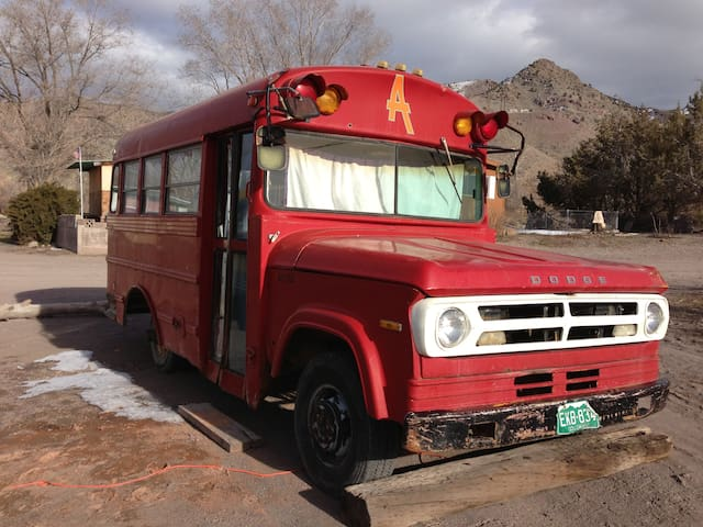 Althea Bus at Mystic Hot Springs