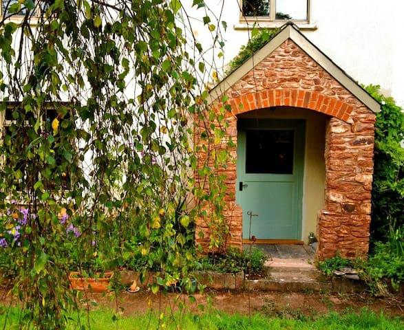 Garden entrance, original Hare & Hounds tavern (18th C.) entrance