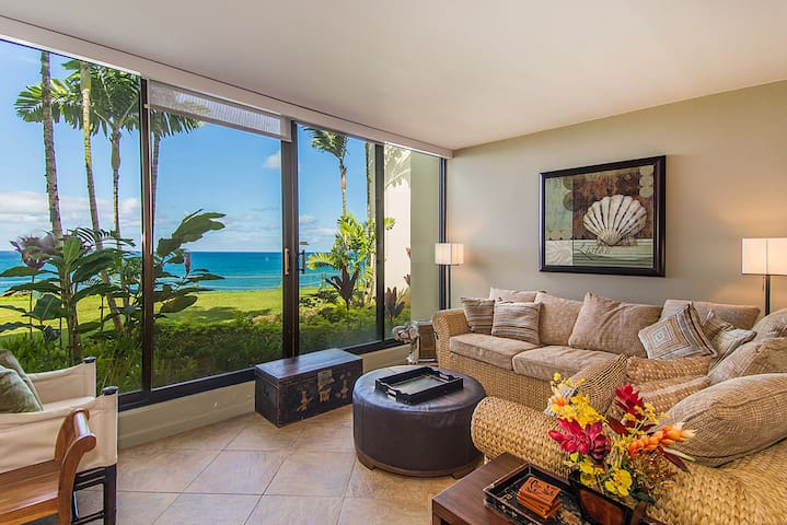 Free Rental Car, PP 105 Oceanfront Condo See What The North Shore Of Kauai Has To Offer With Your Free Midsize Rental Car