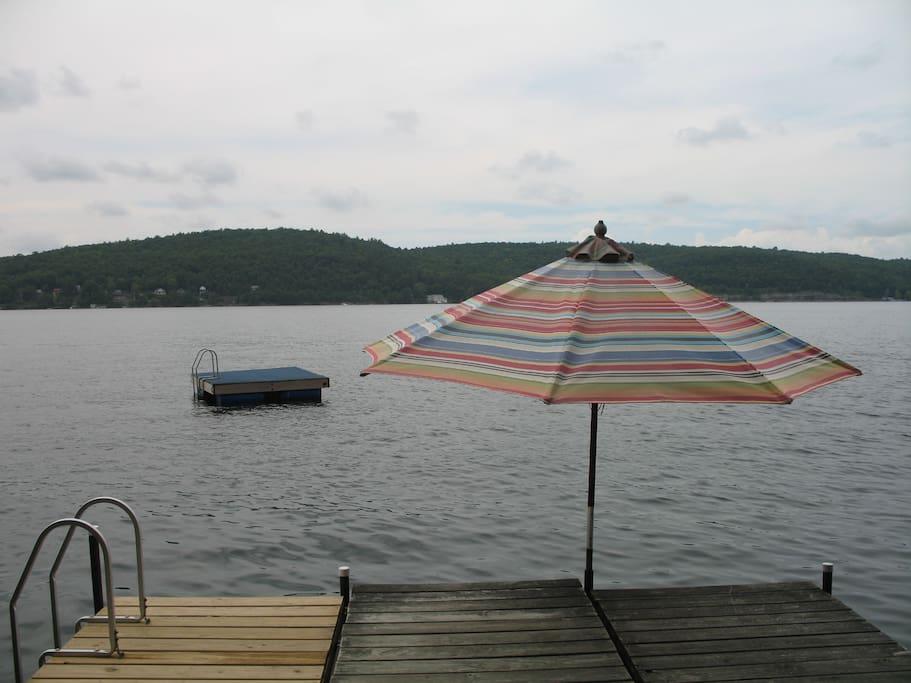 Swim Dock and Swim Platform