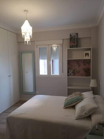 Preciosa habitación doble, centro de Madrid