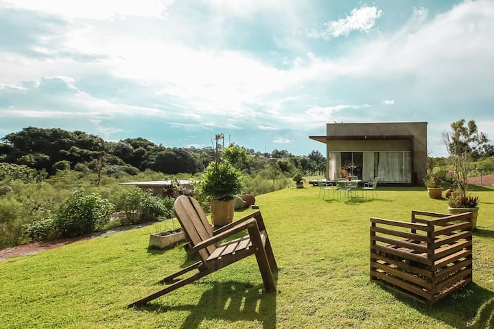 Treasure: bucolic and natural place in the city - Brasília - Hus