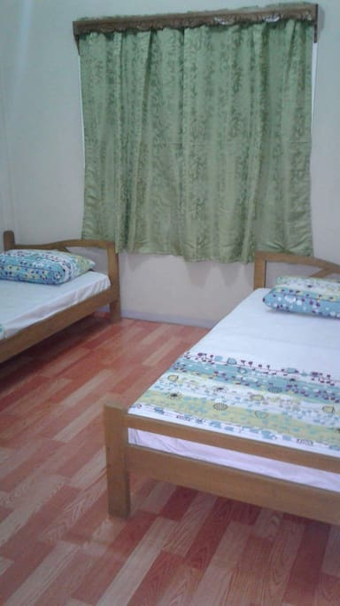 Room 1 with 2 beds