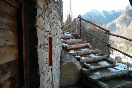 Cosy chalet in Valsesia at the foot of Monterosa - Campertogno